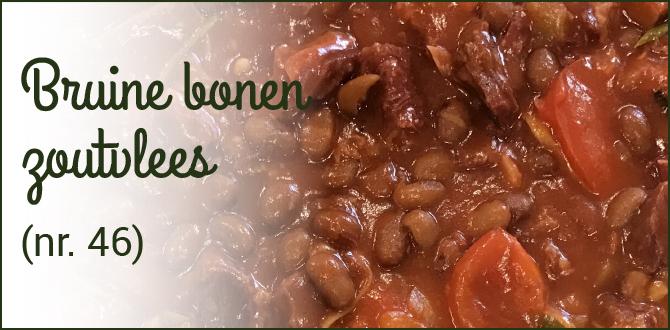 Kiem Foei bruine bonen met groente
