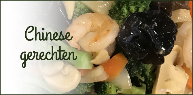 Chinese gerechten - Kiem Foei
